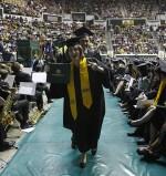 Let the graduation ceremony commence