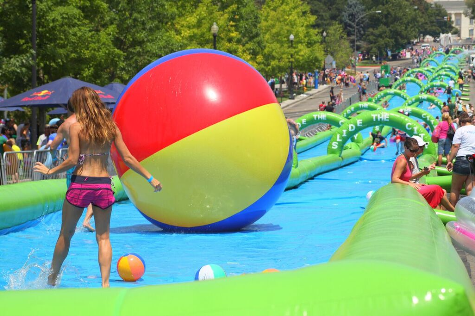 Slide the City to Invade Tallahassee streets