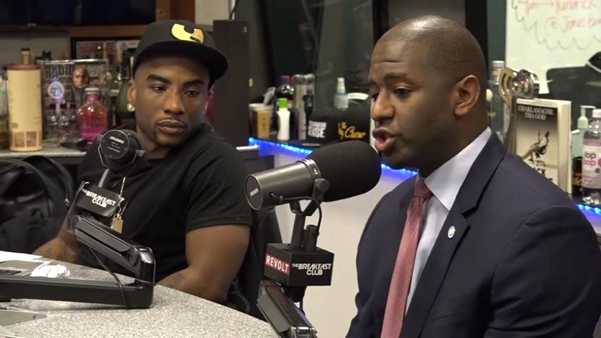 Gillum draws more attention to his run for governor on The Breakfast Club