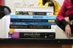 Textbook prices discourage students