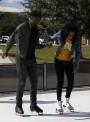 CAB hosts ice skating on campus