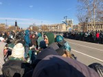 Philly Fans Rally At Eagles Parade