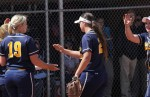 Softball sweeps North Dakota