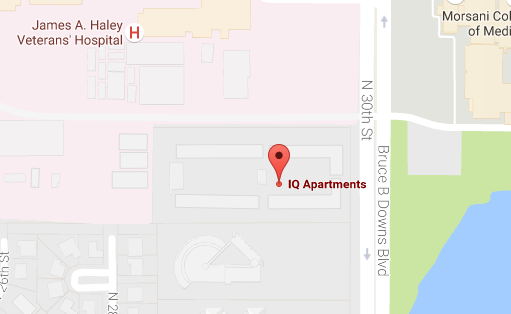 County plans traffic light outside IQ Apartments