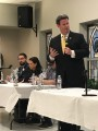 Dailey and Daniels spar at forum