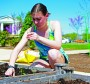 New garden at Tech's food pantry
