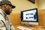 Men's basketball players create highlight videos