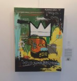 Local artist pays ode to Jean-Michel Basquiat