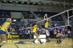 Volleyball on five-game winning streak