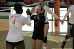 FAMU Volleyball defeats UNF 3-2