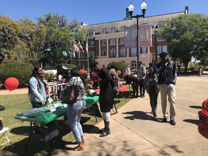 FAMU participates in Kick Butts Day