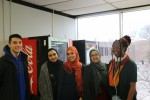 Students try on hijabs in event hosted by MSA