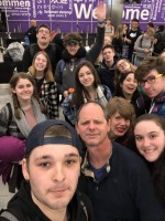Theater students invade London