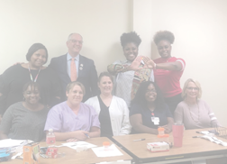 Delta Sigma Theta partners with Foster-Johnson Health Center for STD drive