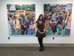 CU president's daughter wows at 77 Gallery