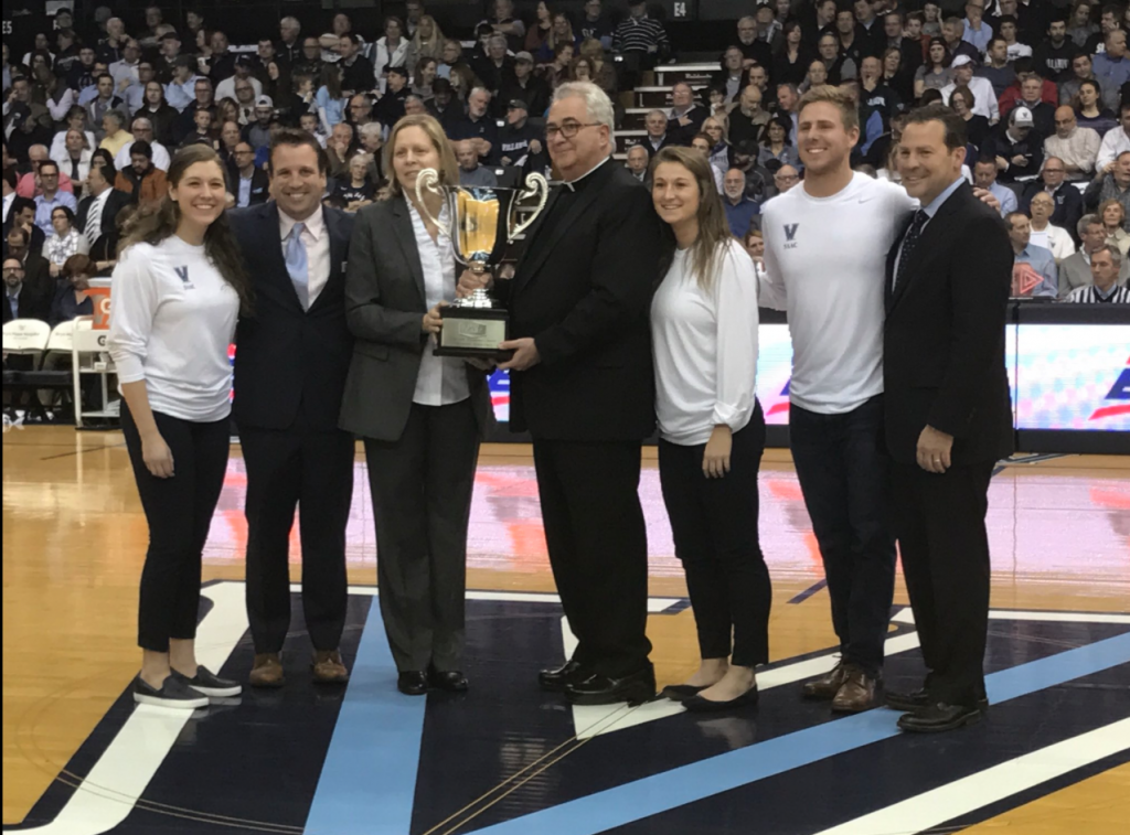 University wins Big East Presidents' Award