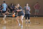 Greeks play dodgeball