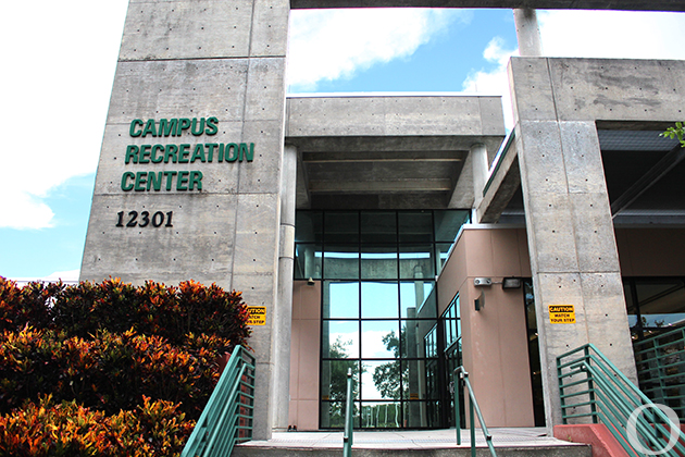 Campus rec center remains in partial operation the oracle