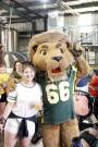 University family celebrates Lion Up beer