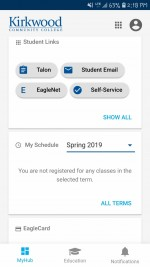 MyHub offers easy accessibility for students