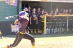 Softball defeats TSU twice in three game series at home