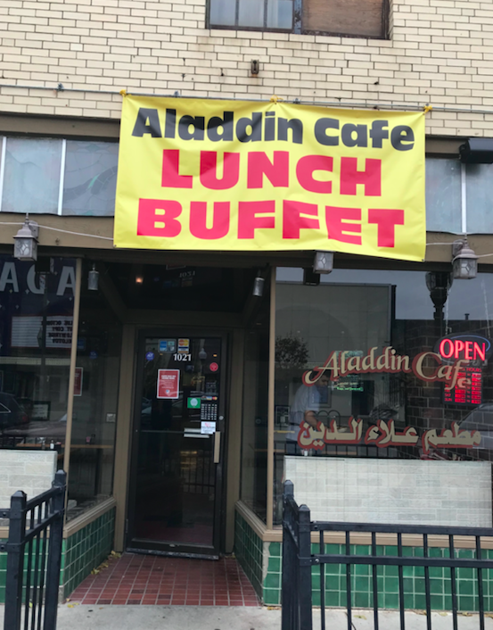 Whole Earth Club Visits Aladdin Café