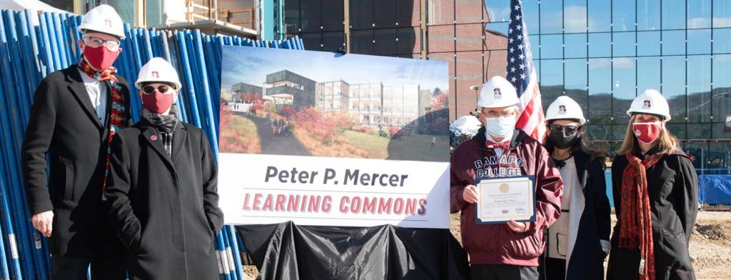 Ramapo names the Peter P. Mercer Learning Commons