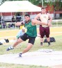 Track & Field athletes claim titles and records at SLC Championships