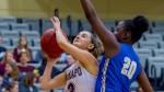 Women's basketball defeats Stockton University 60-53