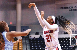 Lady basketball finds rhythm after defeating unbeaten Indiana