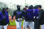 Baseball coach talks new strategies