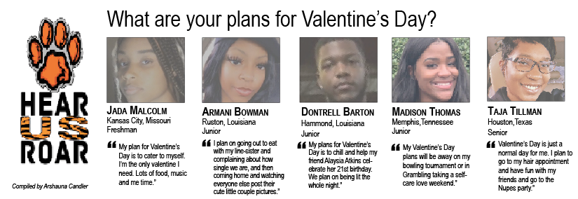Talk Back: What are your plans for Valentine's Day?