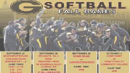 Lady Tiger softball continues fall preseason games