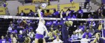 Belles volleyball solidifies success on Senior Day Weekend
