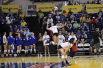 Volleyball scores victory