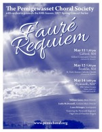 Pemi Choral Society Presents Fauré's Requiem