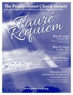 Pemi Choral Society Presents Fauré's Requiem