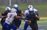 Rams rain down on Javelinas in first home game