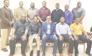 Omega Psi Phi hosts Black History Month Program