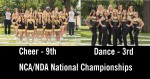 Cheer and Dance Perform Well at Nationals