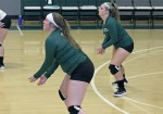 Volleyball team already improves on last season's record
