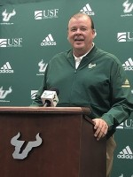 Kerwin Bell details planned changes to USF offense