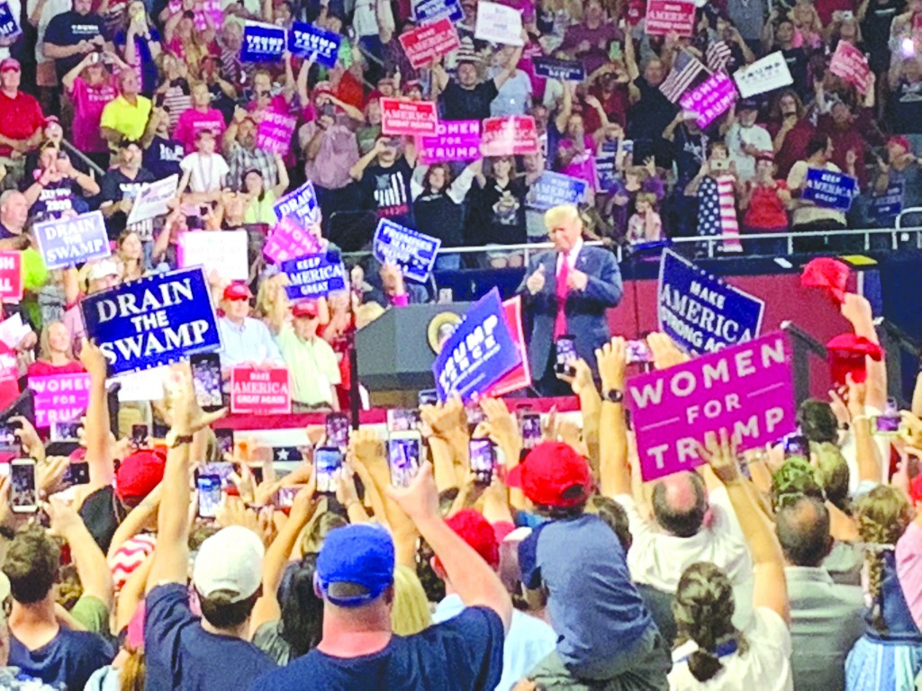 Trump Rallies Tennessee Supporters Ahead Of Midterms Tntechoracle