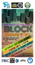 November election focus of Saturday block party