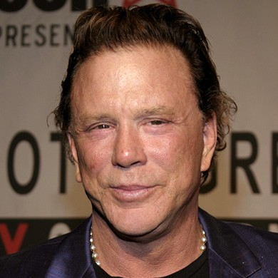 Mickey Rourke specifie...