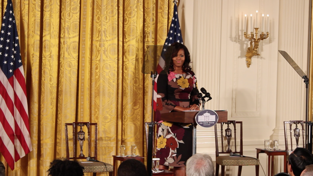 First Lady Celebrates Initiative that Helps Veterans