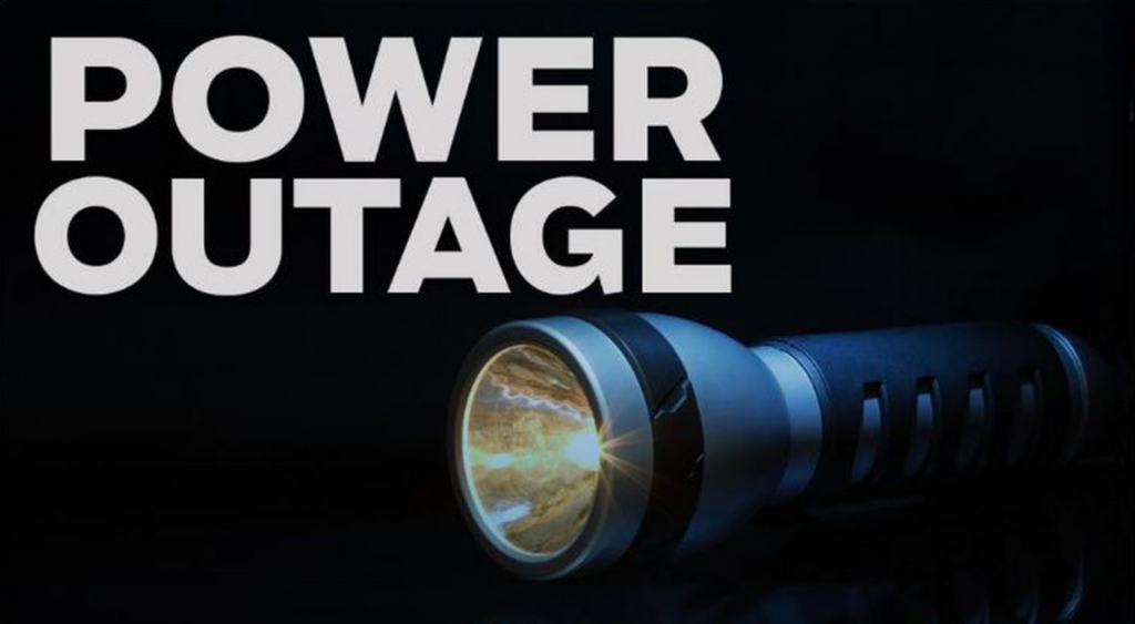 Planned power outage, Jan. 15