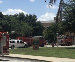 ISA building evacuated after medical scare