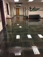 SVC basement reopens after flooding