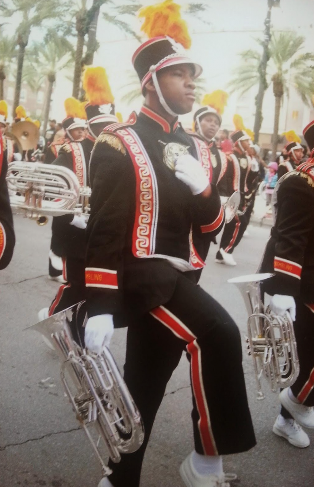 McIntyre cherishes time spent in World-Famed Marching Band